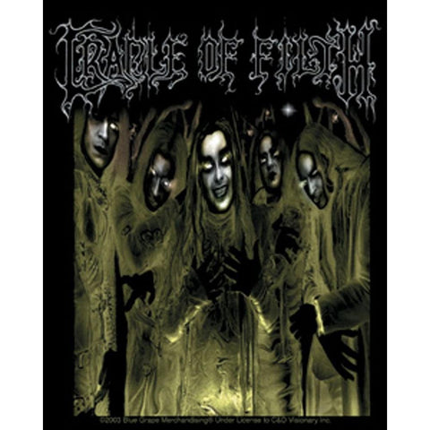Cradle of Filth Carpe Noctem Sticker