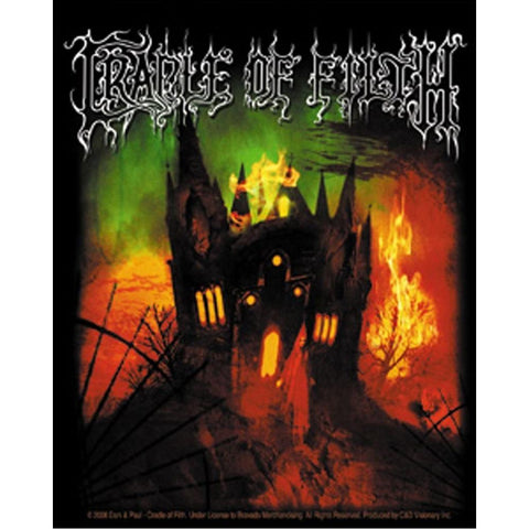 Cradle of Filth Cemetary Sundown Sticker