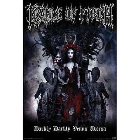 Cradle Of Filth Darkly Darkly Venus Aversa Wall Poster
