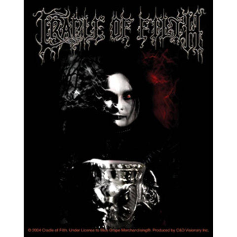 Cradle of Filth English Fire Sticker