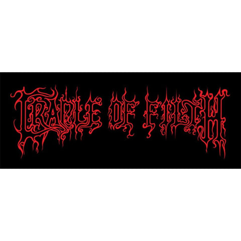 Cradle of Filth Logo Woven Patch