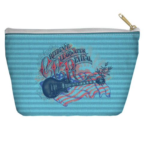 Creedence Clearwater Revival Americana Accessory Pouch Spun Polyester tapered bottom