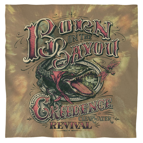 Creedence Clearwater Revival Bayou Polyester Bandana