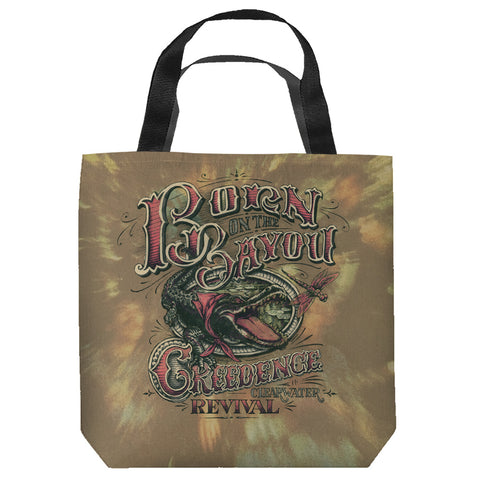 Creedence Clearwater Revival Bayou Tote Bag Spun Polyester