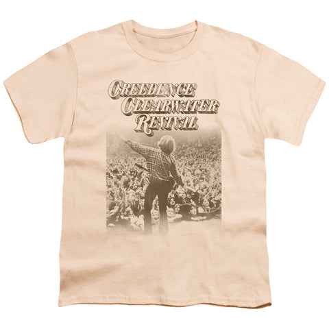 Creedence Clearwater Revival Born To Move Youth 18/1 100% Cotton SS T