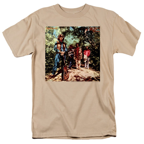 Creedence Clearwater Revival Green River Album Men's 18/1 Cotton SS T