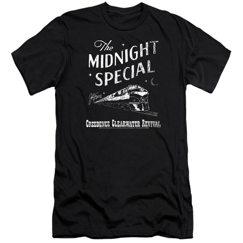 Creedence Clearwater Revival The Midnight Special Men's 30/1 Cotton Slim SS T
