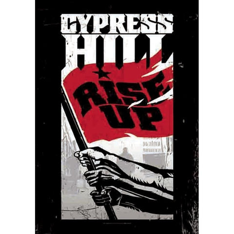 Cypress Hill Rise Up Fabric Poster