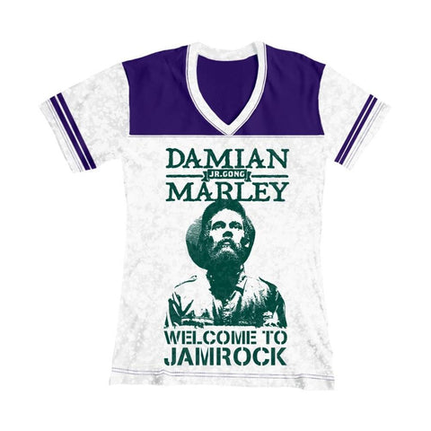 Damian Marley Welcome To Jamrock Women's T-Shirt