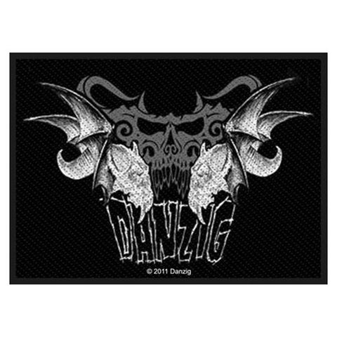 Danzig Tribal Skull Patch