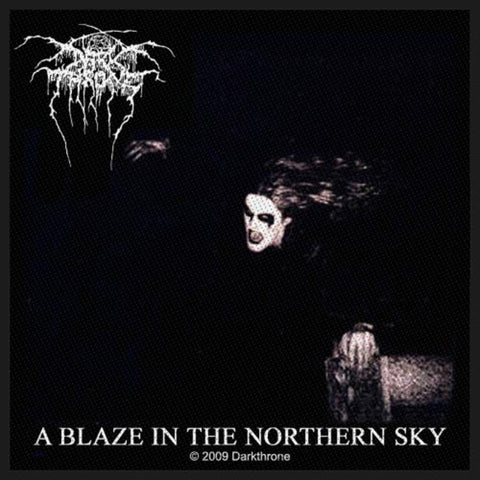 Darkthrone A Blaze In The Northern Sky Woven Sew-on Patch
