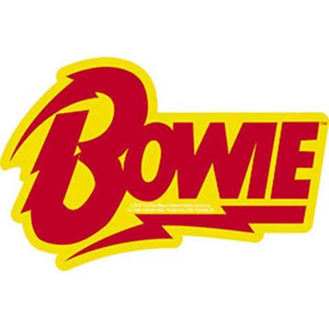 David Bowie Bowie David Bolt Logo Sticker