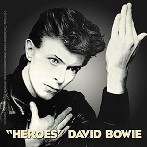 David Bowie Bowie David Heros Sticker