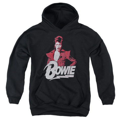 David Bowie Special Order Diamond David Youth 50% Cotton 50% Poly Pull-Over Hoodie