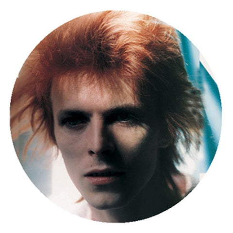 David Bowie Face Button