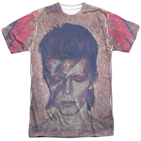 David Bowie Special Order Glam Men's Regular Fit 100% Polyester Short-Sleeve T-Shirt
