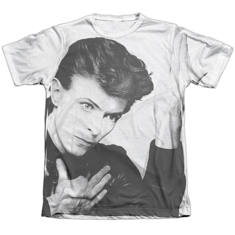 David Bowie Special Order Hero Men's Regular Fit 65% Poly 35% Cotton Short-Sleeve T-Shirt