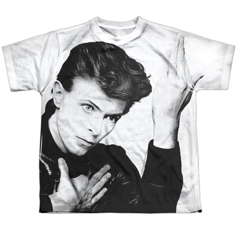 David Bowie Special Order Hero Youth Regular Fit 100% Polyester Short-Sleeve T-Shirt