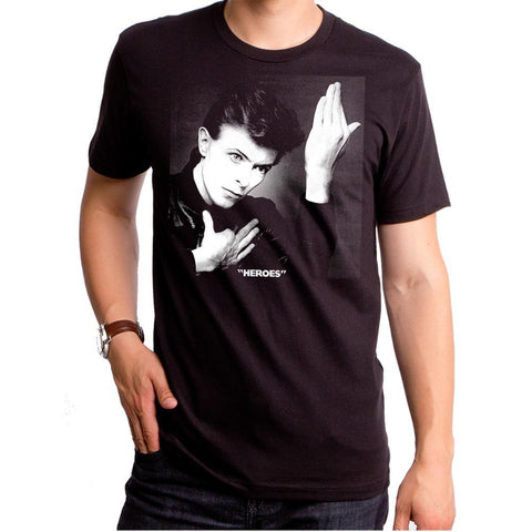 David Bowie Heroes Men's T-shirt