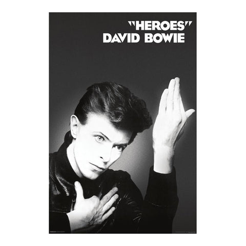 David Bowie Hero's Poster