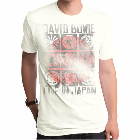 David Bowie Live In Japan Relic Men's Premium Soft T-Shirt