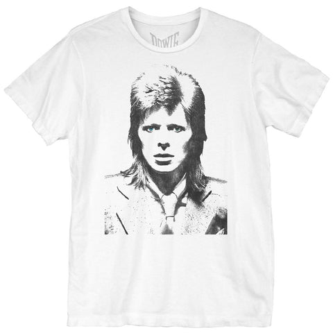 David Bowie Mug Men's S/S Unisex White T-Shirt