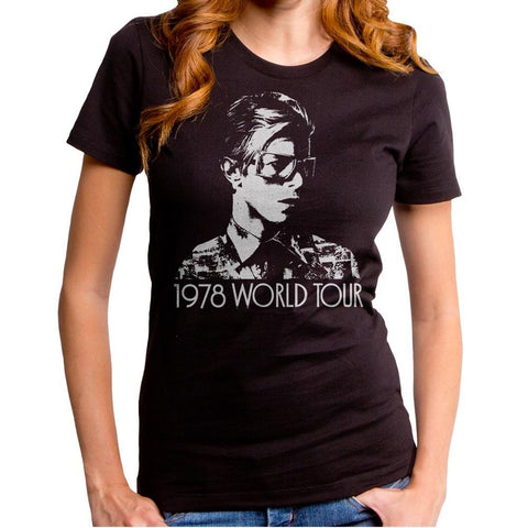 David Bowie On Tour Women's T-Shirt