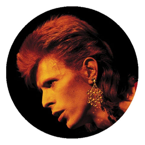 David Bowie Profile Button