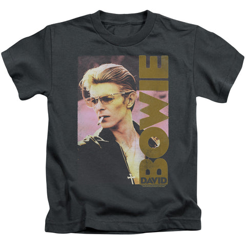 David Bowie Special Order Smokin Juvenile 18/1 100% Cotton Short-Sleeve T-Shirt