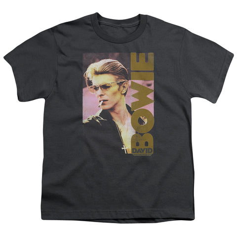 David Bowie Special Order Smokin Youth 18/1 100% Cotton Short-Sleeve T-Shirt