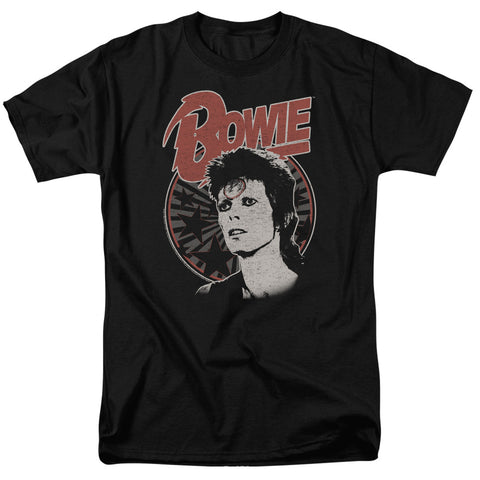 David Bowie Special Order Space Oddity Men's 18/1 100% Cotton Short-Sleeve T-Shirt