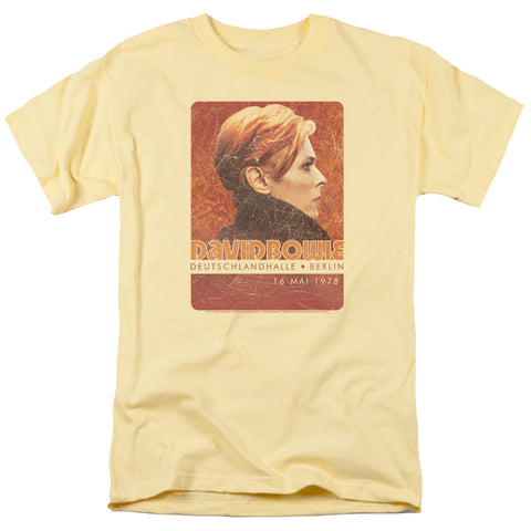 David Bowie Special Order Stage Tour Berlin 78 Men's 18/1 100% Cotton Short-Sleeve T-Shirt