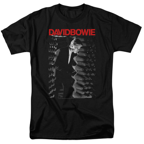 David Bowie Special Order Station To Station Men's 18/1 100% Cotton Short-Sleeve T-Shirt