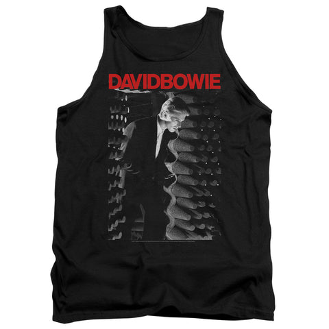 David Bowie Special Order Station To Station Men's 18/1 100% Cotton Tank Top