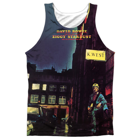 David Bowie Special Order Ziggy Star Dust Men's Regular Fit 100% Polyester Tank Top