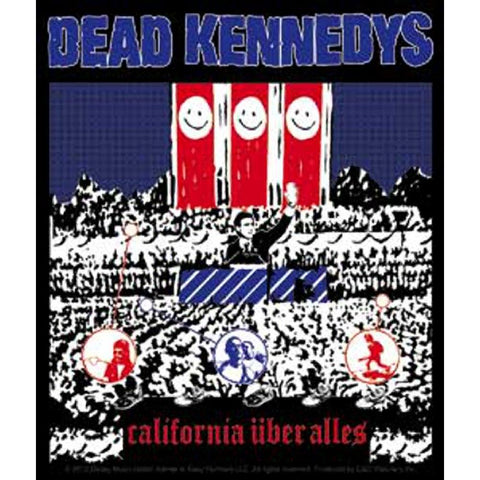 Dead Kennedys California Uber Alles Sticker
