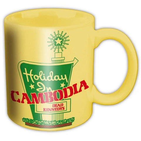 Dead Kennedys Holidays In Cambodia Boxed Mug