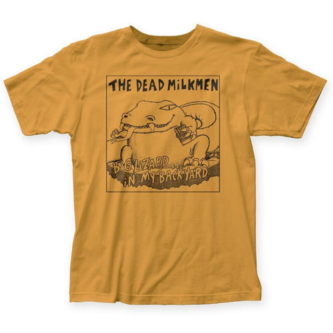 Dead Milkmen Big Lizard Fitted Men's T-Shirt