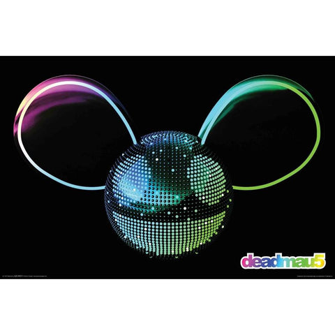 Deadmau5 Chrome Logo Poster