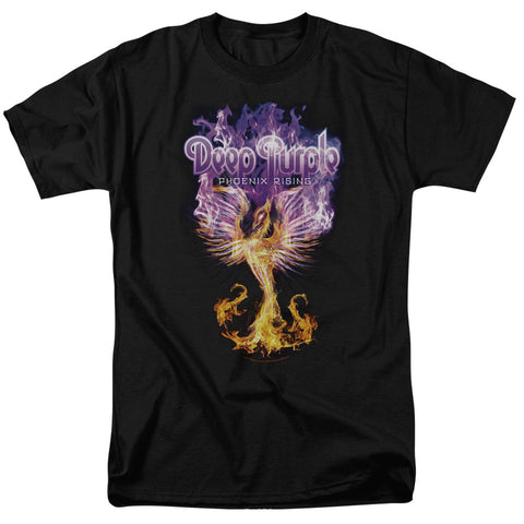 Deep Purple Special Order Phoenix Rising Men's 18/1 100% Cotton Short-Sleeve T-Shirt