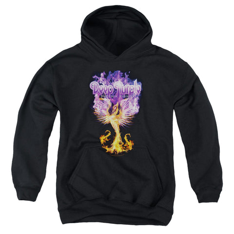 Deep Purple Special Order Phoenix Rising Youth 50% Cotton 50% Poly Pull-Over Hoodie