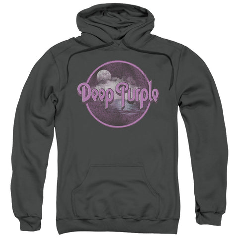 Deep Purple Special Order Smoke On The Water Men's Pull-Over 75% Cotton 25% Poly Hoodie