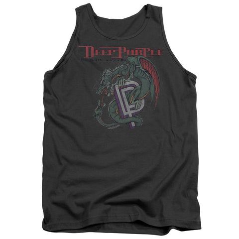 Deep Purple Special Order The Battle Rages On Men's 18/1 100% Cotton Tank Top