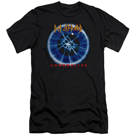 Def Leppard Special Order Adrenalize Men's 30/1 100% Cotton Slim Fit Short-Sleeve T-Shirt