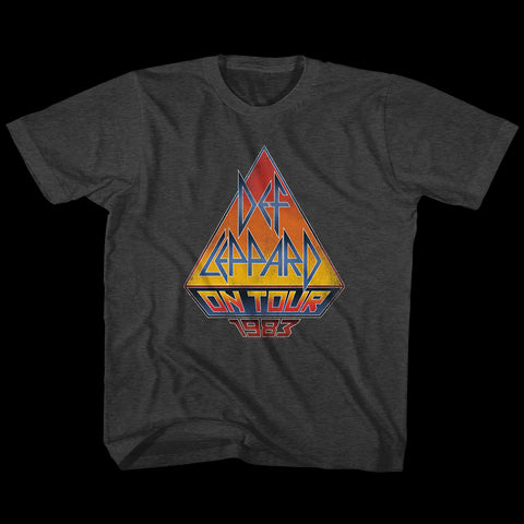 Def Leppard Special Order On Tour 83 Youth S/S T-Shirt