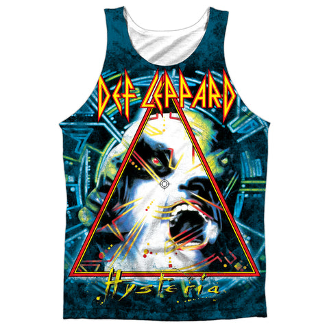 Def Leppard Special Order Hysteria Men's Regular Fit 100% Polyester Tank Top