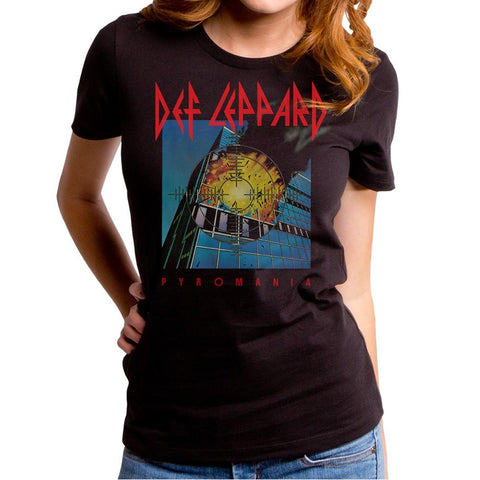 Def Leppard Pyromania Cover Women's Premium Soft T-Shirt