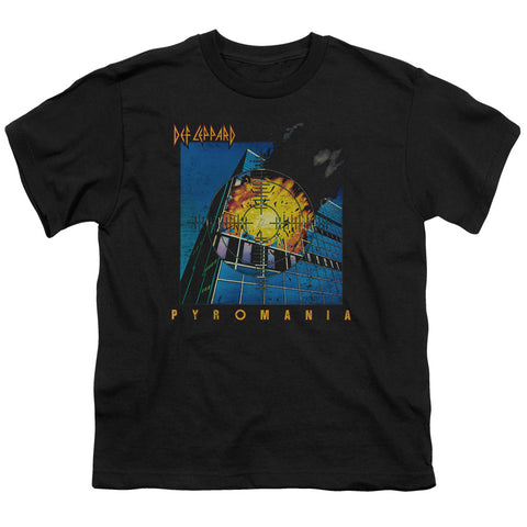 Def Leppard Special Order Pyromania Youth 18/1 100% Cotton Short-Sleeve T-Shirt