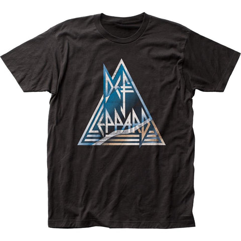 Def Leppard Rock Brigade Men's Fitted Jersey T-Shirt