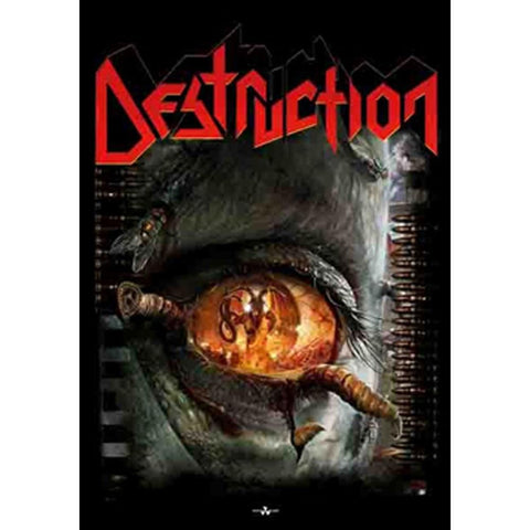 Destruction Day Of Reckoning Fabric Poster